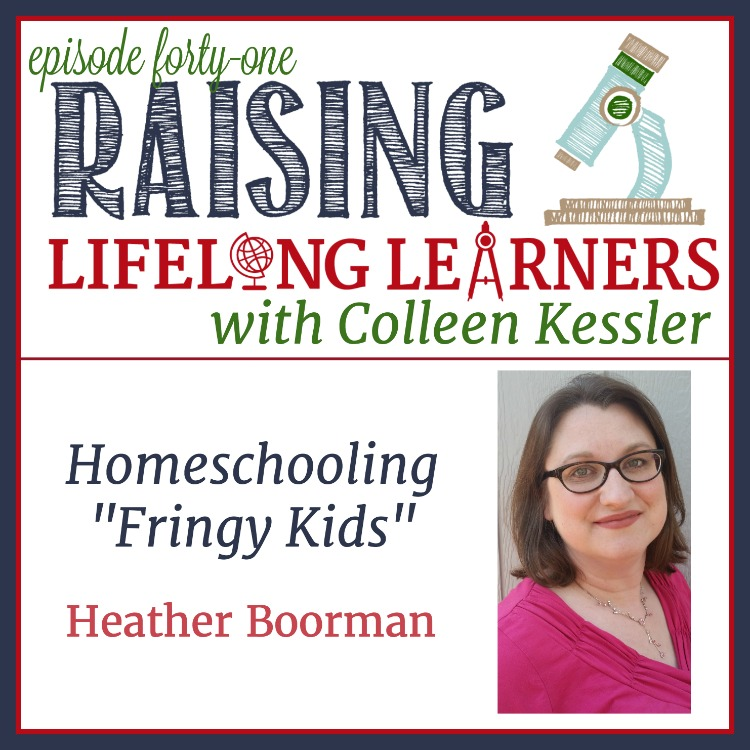 "Raising kids ""on the fringes,"" can be isolating and confusing. Join us as we talk about how helping kids see their differences can help them be amazing. #homeschoolpodcast"