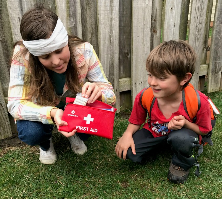 Think Outside Boxes First Aid