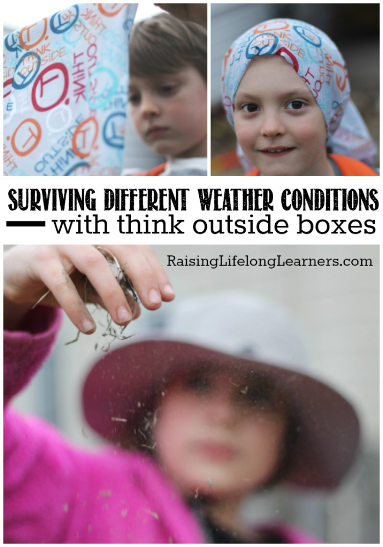 Surving Different Weather Conditions with Think Outside Boxes