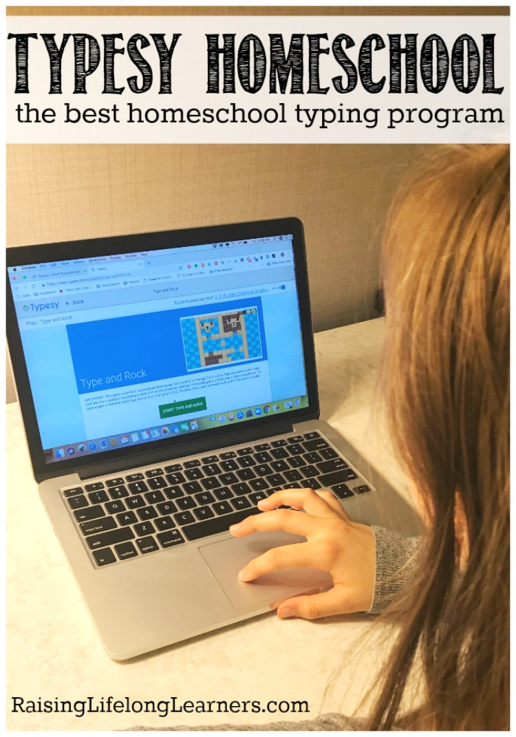 The Best Homeschool Typing Program - Typesy Homeschool