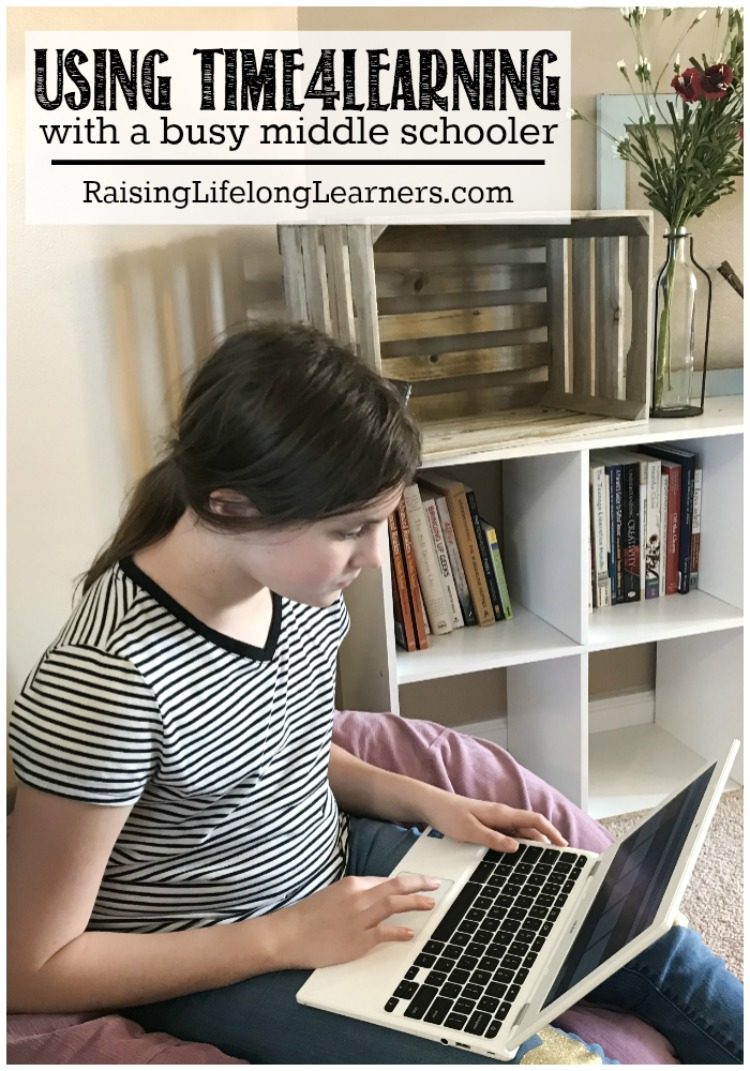 Using Time4Learning for a Busy Middle Schooler