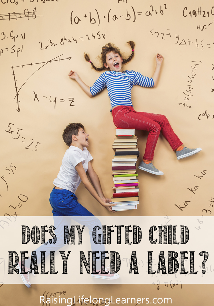 does my gifted child need a label
