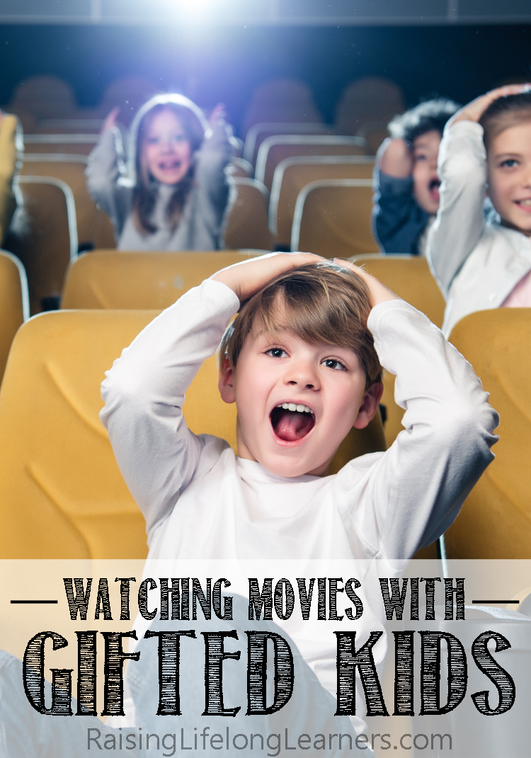 watching movies with gifted kids