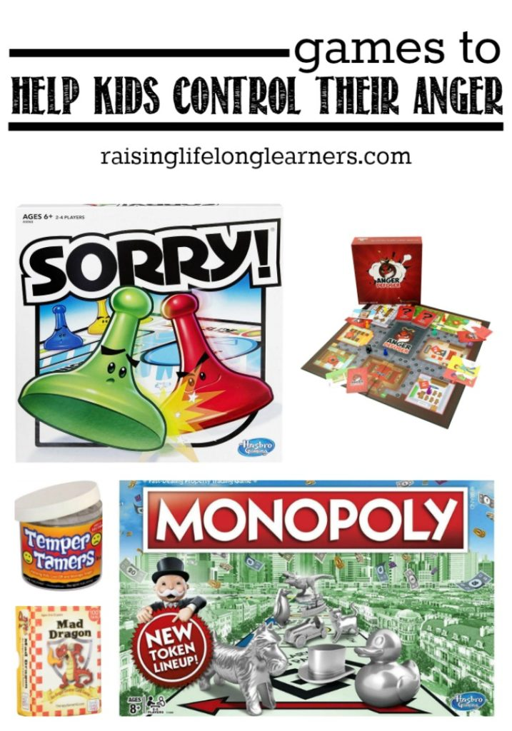 Games to Help Kids Control Their Temper