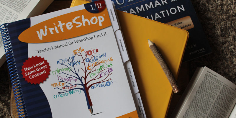 WriteShop to the Rescue | When Unschooling Isn't Enough