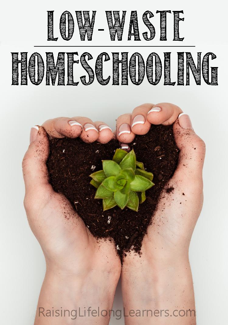 low waste homeschooling