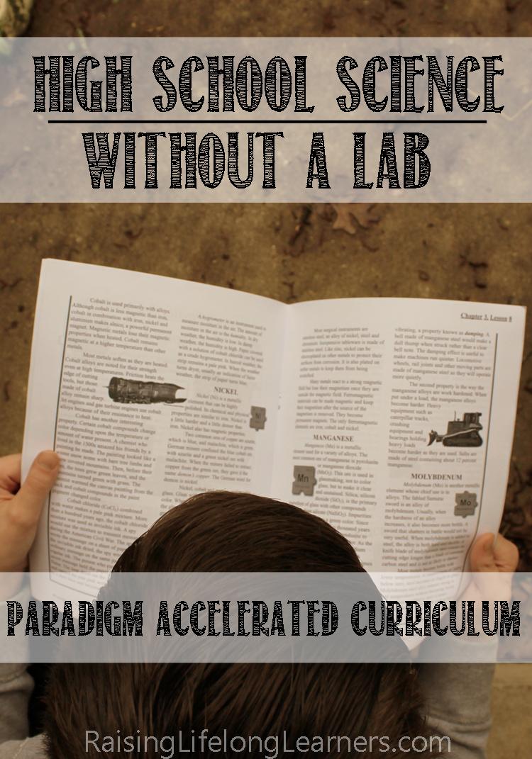 paradigm accelerated curriculum