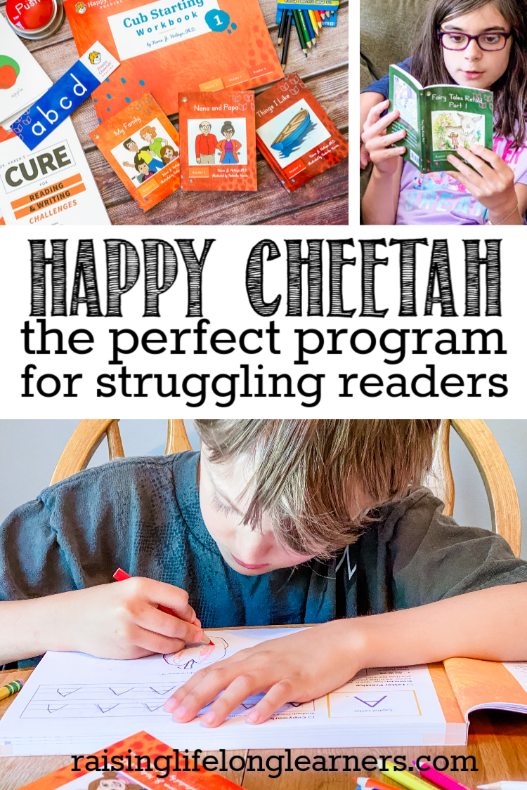 Happy Cheetah The Perfect Program for Struggling Readers