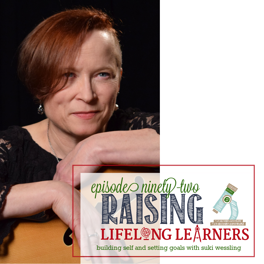 RLL #92: Building Self and Setting Goals with Suki Wessling