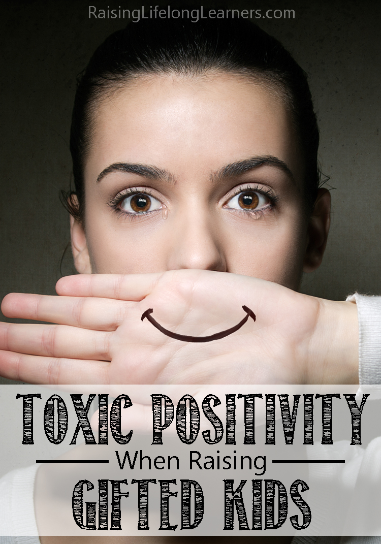 toxic positivity gifted kids