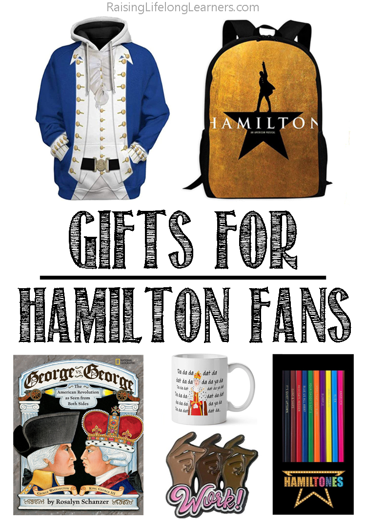 gifts for hamilton fans