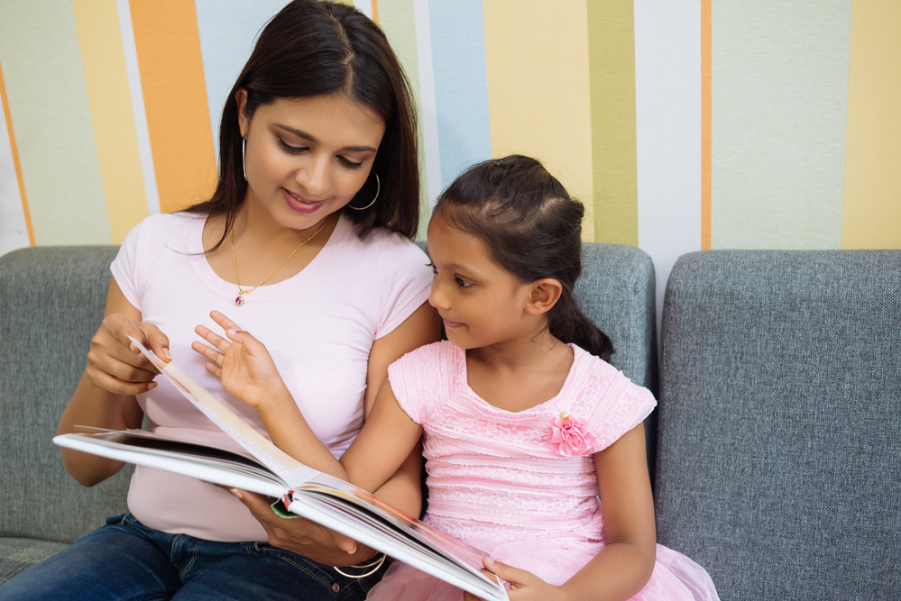 reading to our kids in homeschool