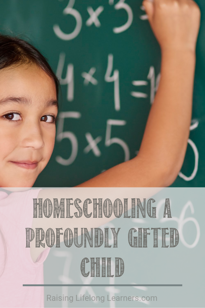 homeschooling profoundly gifted