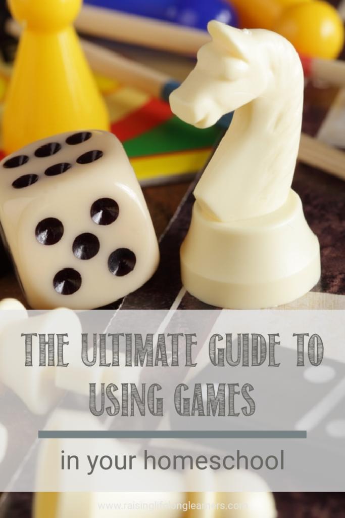 games in your homeschool