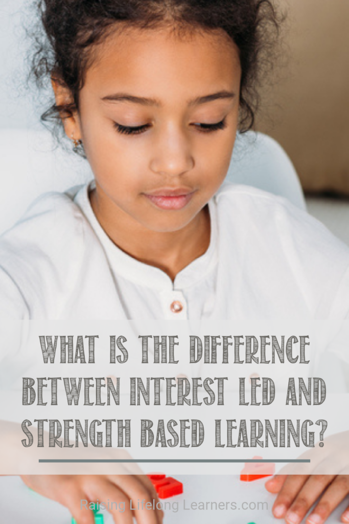 interest-led and strength based learning