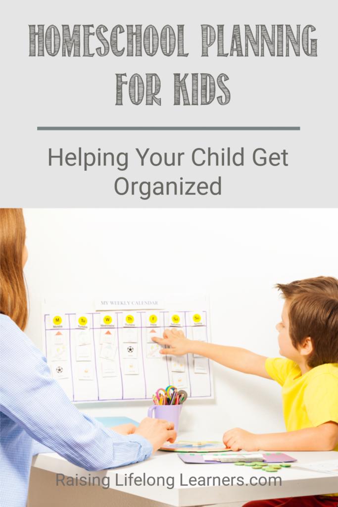 Homeschool Planning For Kids